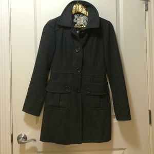 Outerwear - Dark grey pea coat
