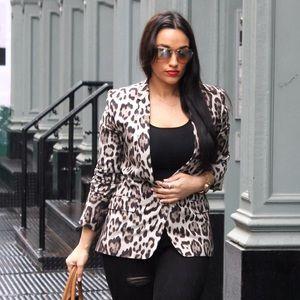 Zara leopard blazer