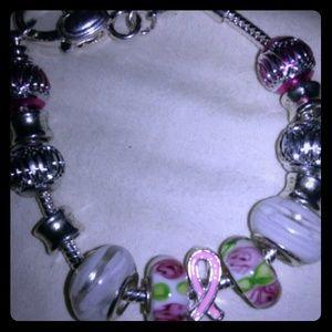 Handmade Cancer Bracelet