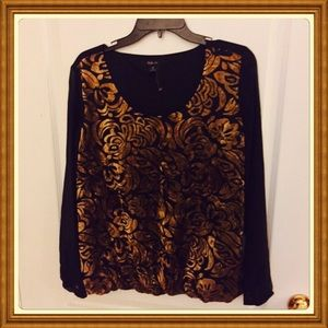 Style & company top size M