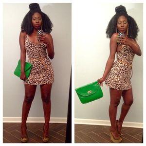 Leopard Print & Ruffle Dress Bundle