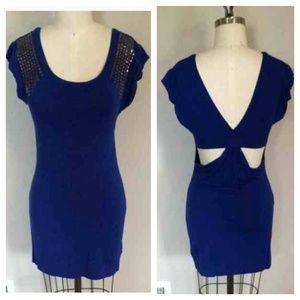 Royal Blue tunic dress