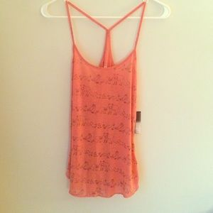 Urban Outfitters Coral Wildlife Tank