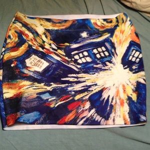 Hot Topic Skirts - Doctor Who bandage skirt
