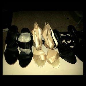 Shoes - *BUNDLE DEAL* 3 pairs of heels