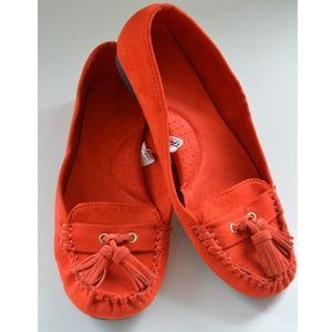 Merona Shoes - 🎊Host Pick 🎊Orange Tassel Moccasins Loafers!