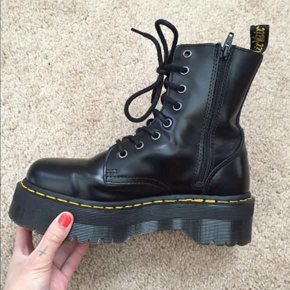 bf2bdef4a43bab Dr. Martens Boots - Dr. Martens Jadon boots US 7 (runs big)