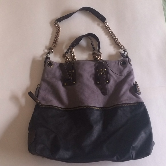 4b17c2fb15cc Deena   Ozzy Handbags - Purple Deena   Ozzy Chain Tote