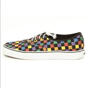how to clean checkered vans slip ons