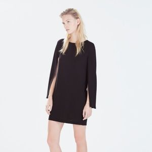 Zara Dresses & Skirts - Sold out Zara cape dress.