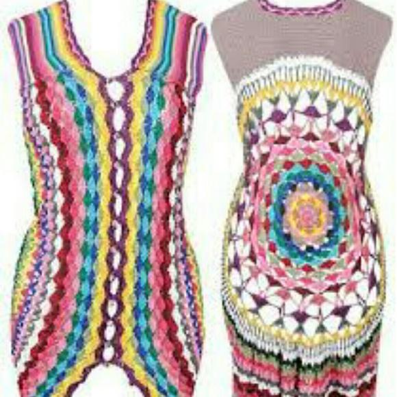 Forever 21 Tops Boho Hippie Style Crochet Vest Poshmark