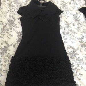 Black cake bottom dress