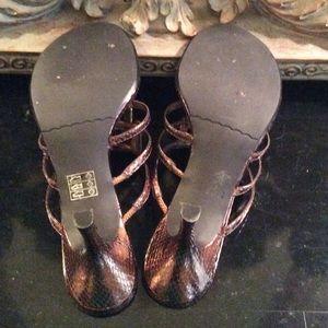 Moda Shoes - 🎉HP🎉 Moda spana Bronze jeweled sandal shoes