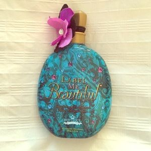 Accessories - Label me beautiful tanning lotion