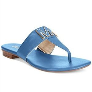 Michael Kors Shoes - Brand New MK Hayley Thong Flat Sandals!