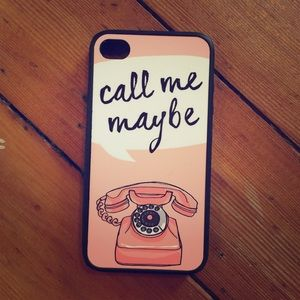 Accessories - Call Me Maybe iPhone 4 Case