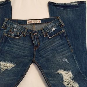 Hollister Denim - Distressed Flare Hollister Jeans Size 3S