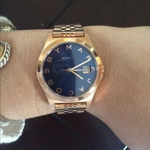 NWT Marc by Marc Jacobs Rose Gold Watch