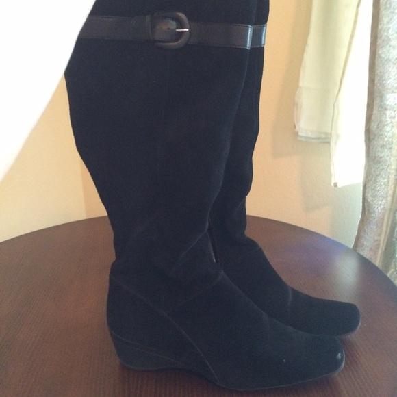 liz claiborne liz claiborne suede boots from paula s