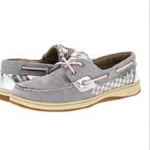 Sperry Shoes   Grey Sperrys   Poshmark
