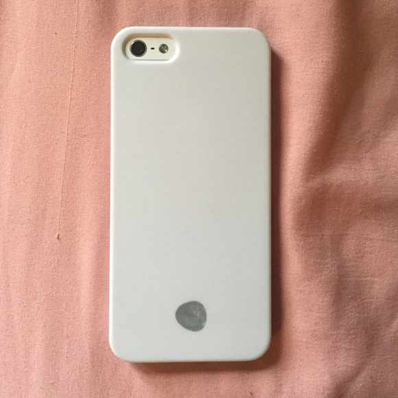 buy popular 26367 086c2 Plain white iPhone 5/5s phone case