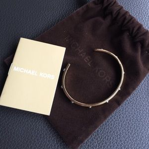 New Michael Kors Studded Bangle