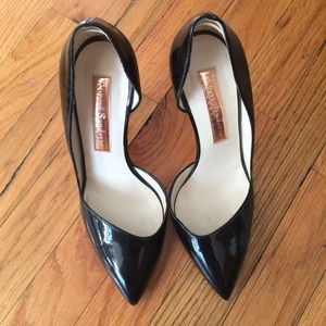 Rupert Sanderson Black Patent Leather Pumps