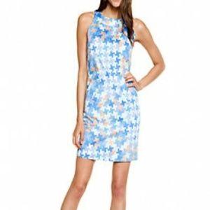 """Annie Griffin Dresses & Skirts - Annie Griffin """"Margaret"""" blue print dress! New!"""