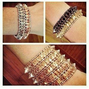 8 Other Reasons Accessories - Metallic Bracelets