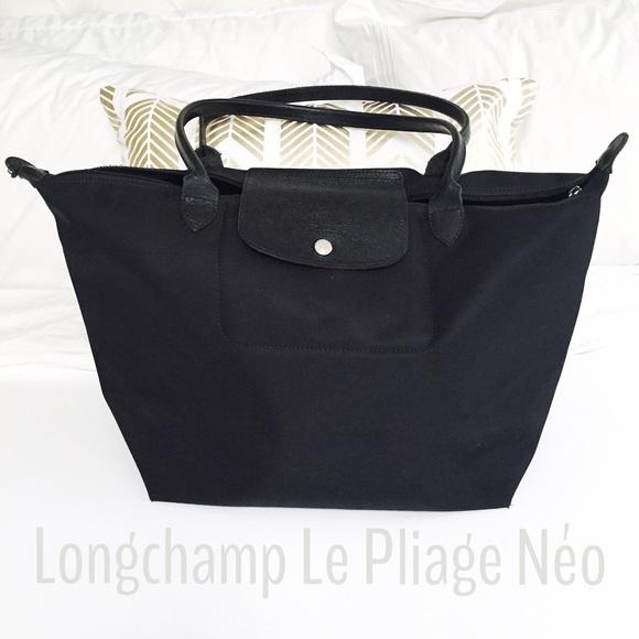 696fba158d7 Longchamp Handbags - Longchamp Large Le Pliage Neo with Long Handles