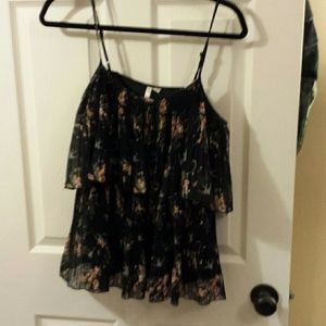 2 for $15 LC Lauren Conrad Ruffle Blouse-M