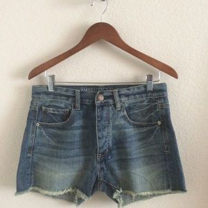 American Eagle Outfitters Pants - ❤ | AEO bf jean cutoff shorts |