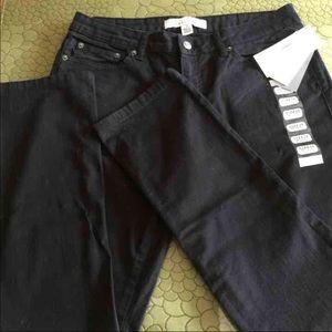 Kenneth Cole Black Skinny Jeans