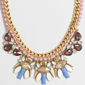 J.crew Chord and Clusters Necklace