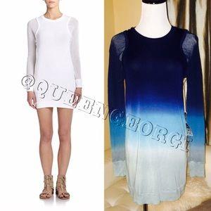 Young Fabulous Broke Abbey Dress Blue Ombré