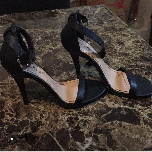 fb7f5f8e143 Anne Michelle Shoes - Black heels similar to Steve Madden stecy