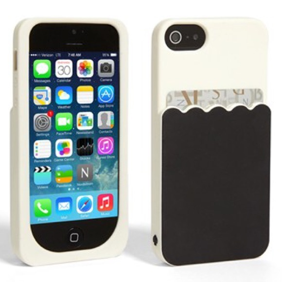 outlet store 0bdbe a5ac1 Kate Spade iPhone 5 Case with Card Holder!