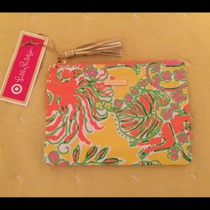 Lilly Pulitzer for Target Pouch with Tassel