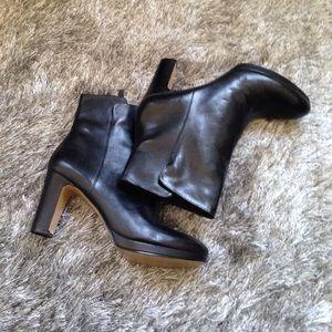 Nine West Black Leather Boot
