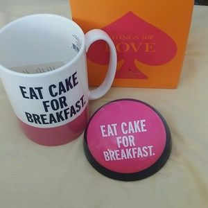 Kate spade 'eat cake for breakfast'