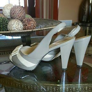 Shoes - Anne Klein peep toe shoes