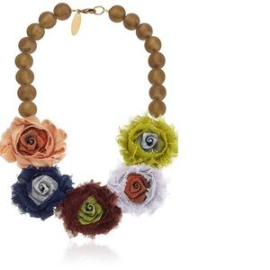 Lenora Dame Statement Necklace, 18""