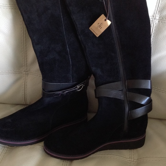 46% off Cole Haan Boots - Cole Haan Waterproof Suede Boots from ...