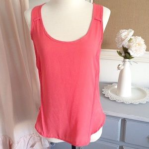 Francesca's Collections Tops - Coral Racerback Tank Top