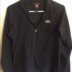 Women's north face pull over sweatshirt