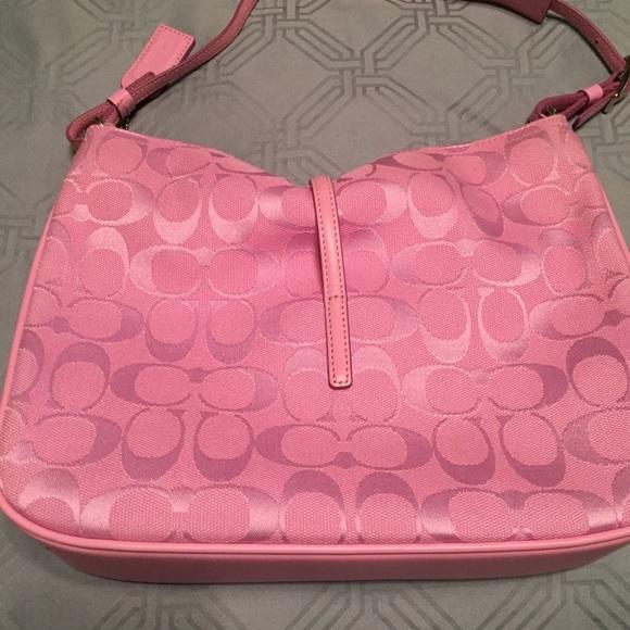 66 off coach handbags brand new unique light pink coach