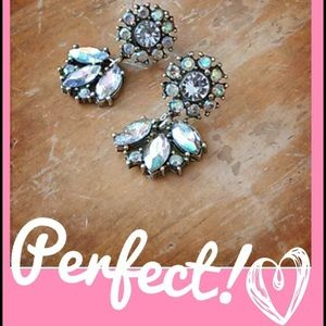 Gorgeous Flower Statement Earrings