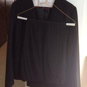 H&M pinstripe suit