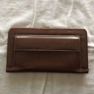 Hato Hasi Clutches & Wallets - Hato Hasi brown wallet