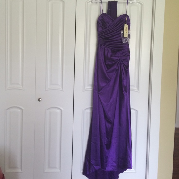 Long Deep Purple Prom Dress | Poshmark